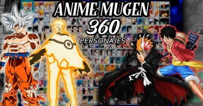 Bleach VS Naruto Anime Mugen 360 Personajes (1.6GB)