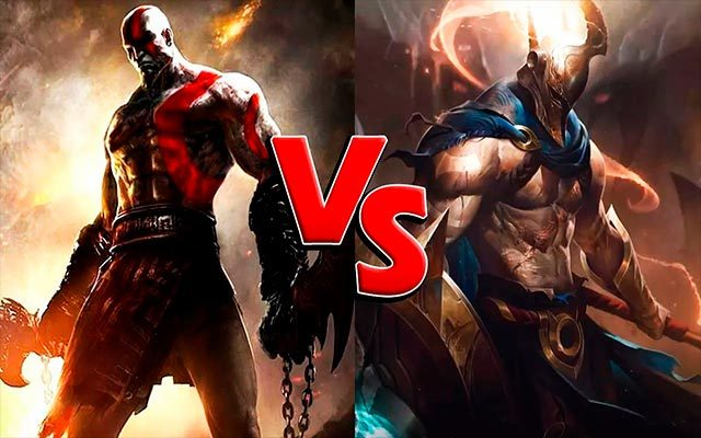 Kratos vs Pantheon (League of Legends) vs (God of War) ¿Quién ganaría?