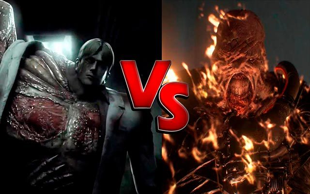 Nemesis vs William Birkin (Resident Evil 2) vs (Resident Evil 3)